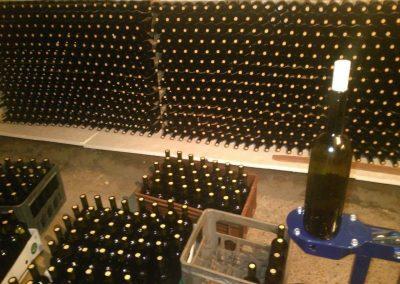 Wine Going to Bottles